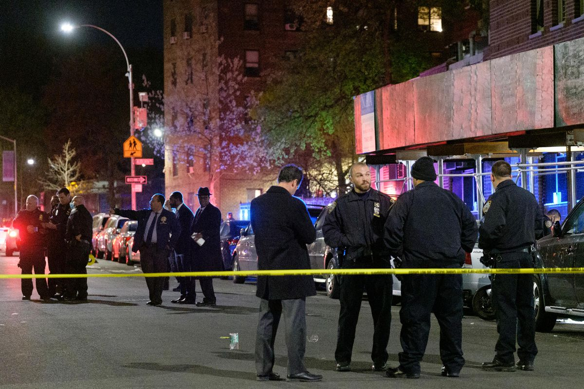 Cops responding to a 10:45 p.m. Thursday call of shots fired found the teen sprawled on the ground on North Portland Ave. outside NYCHA's Ingersoll Houses in Fort Greene, Brooklyn.